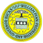 The seal of Bucks County PA